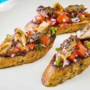 Mackerel Bruschetta