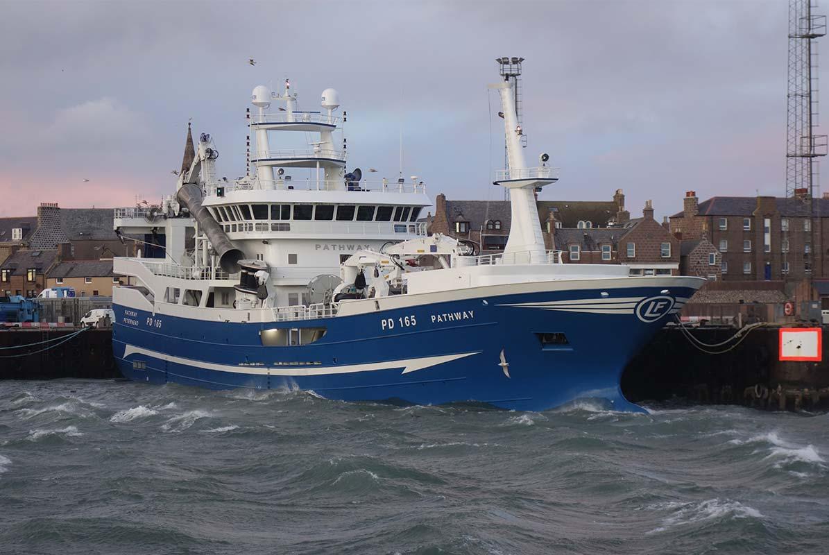Start of the year Scottish mackerel fishery winds-up